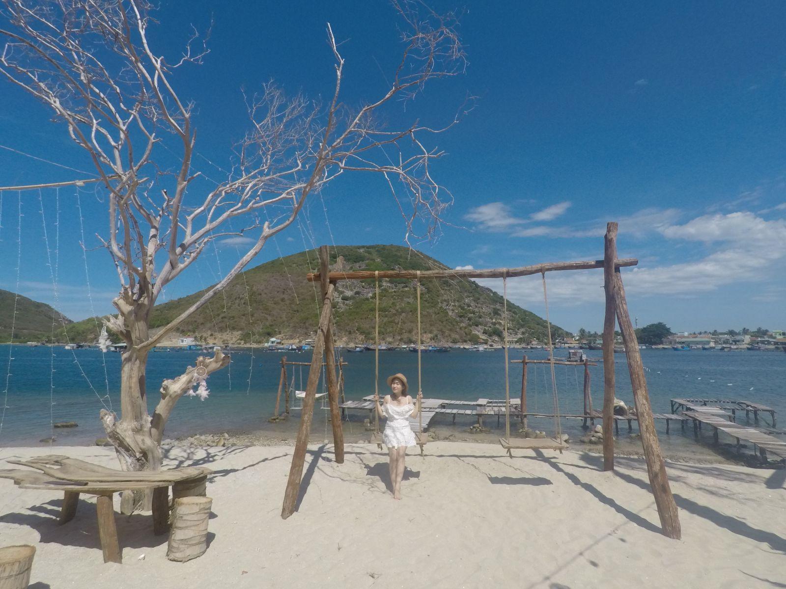 CHECK IN với với võng đẹp mê hồn giữa biển tại Đảo Tình Yêu - 1