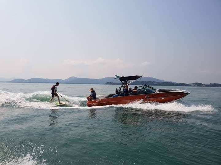 Đảo Tình Yêu - Lướt sóng cùng du thuyền Axis