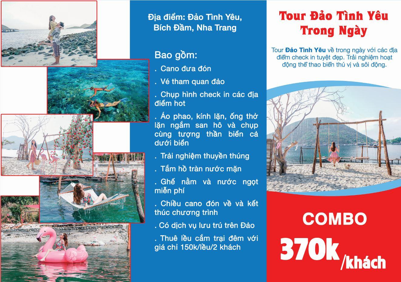 Kinh nghiệm du lịch Đảo Tình Yêu ở Nha Trang